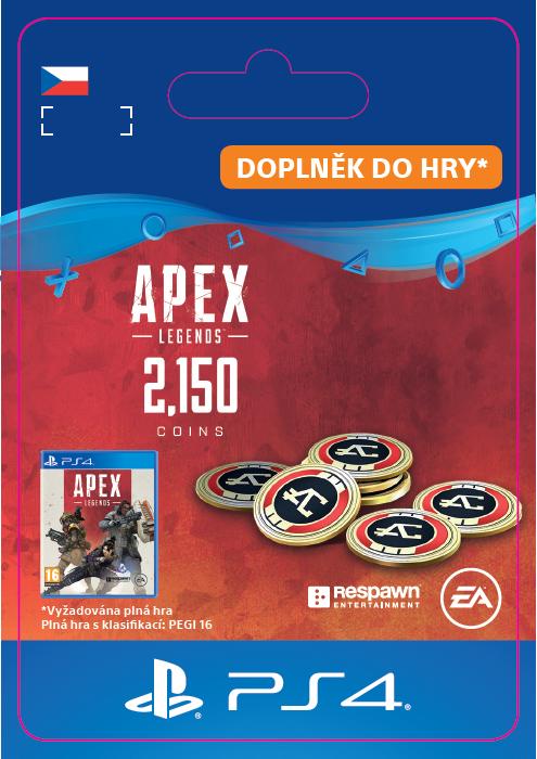 ESD CZ PS4 - Apex Legends 2,000 (+150 Bonus) Apex Coins