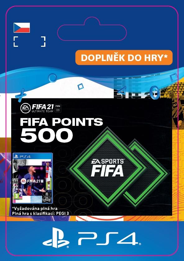 ESD CZ PS4 - FUT 21 – FIFA Points 500
