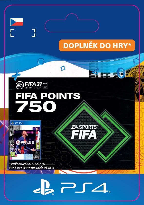 ESD CZ PS4 - FUT 21 – FIFA Points 750