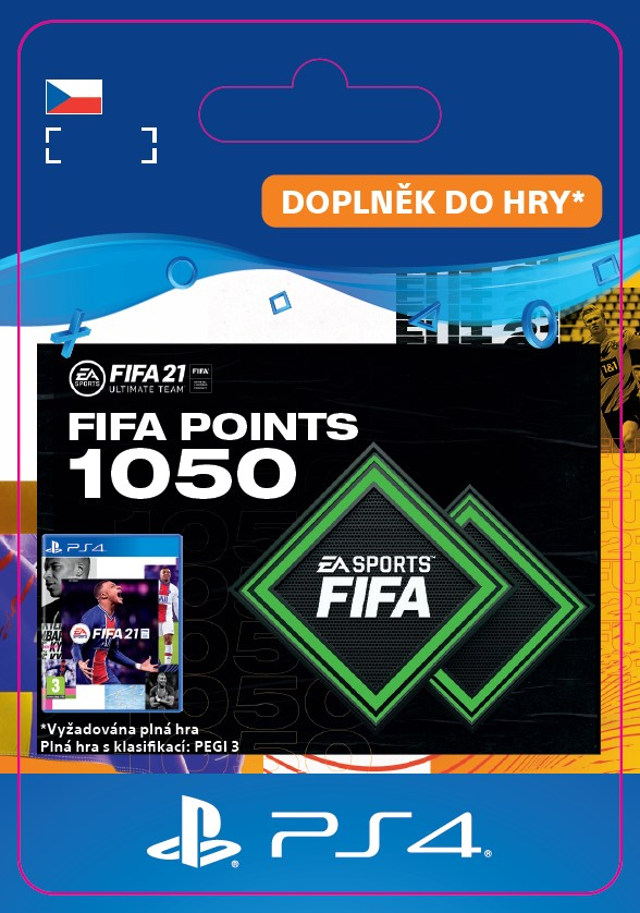 ESD CZ PS4 - FUT 21 – FIFA Points 1050