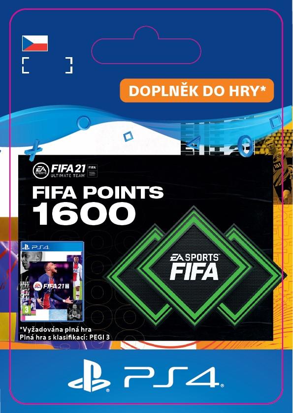 ESD CZ PS4 - FUT 21 – FIFA Points 1600