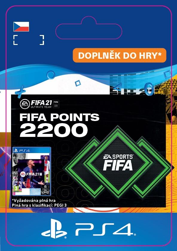 ESD CZ PS4 - FUT 21 – FIFA Points 2200