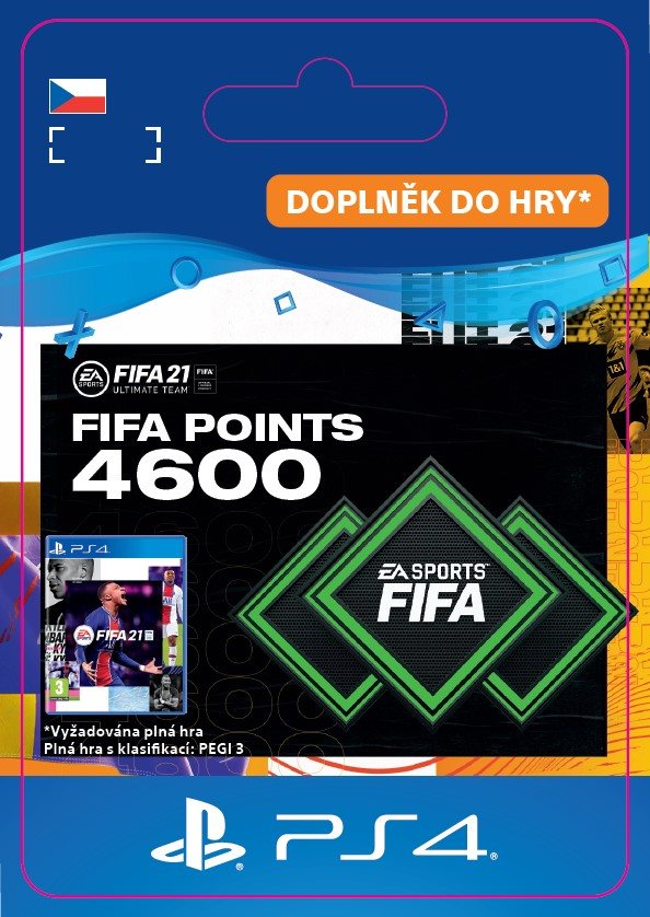 ESD CZ PS4 - FUT 21 – FIFA Points 4600