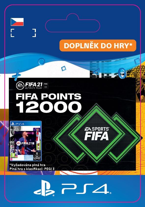 ESD CZ PS4 - FUT 21 – FIFA Points 12000