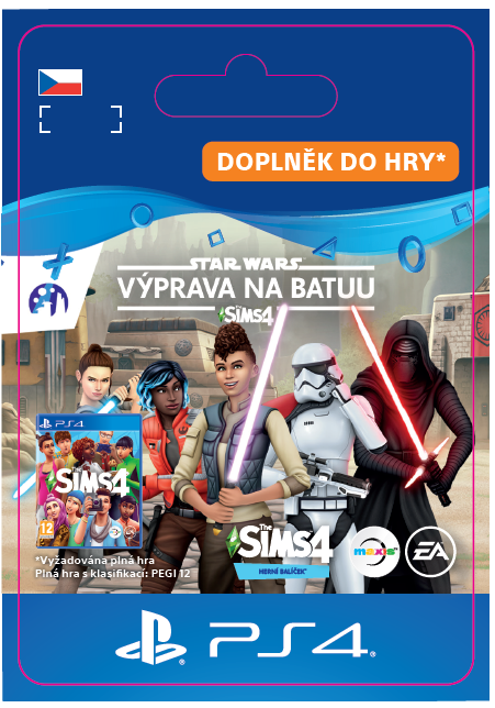 ESD CZ PS4 - The Sims™ 4 SW™ Journey to Batuu GP