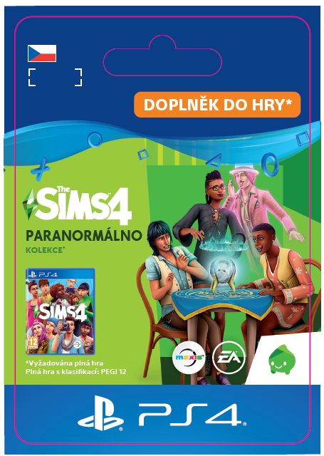 ESD CZ PS4 - The Sims™ 4 Paranormal Stuff Pack