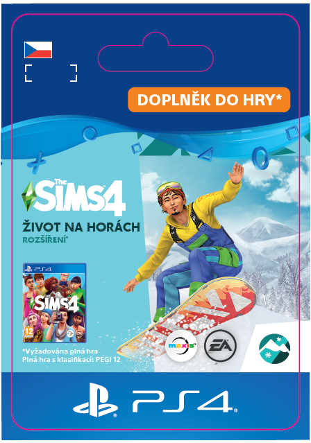 ESD CZ PS4 - The Sims™ 4 Snowy Escape Expansion Pack