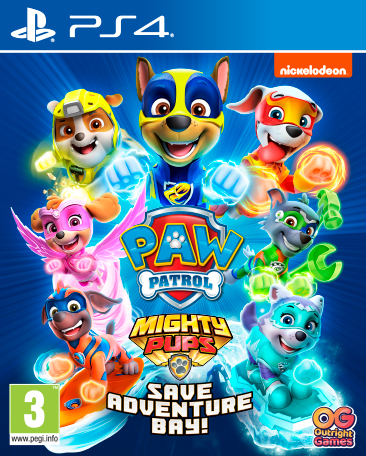 PS4 - Paw Patrol: Mighty Pups Save Adventure Bay