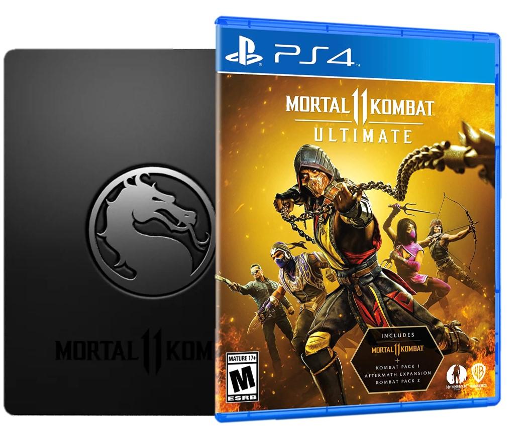 PS4 - Mortal Kombat XI Ultimate Steelbook