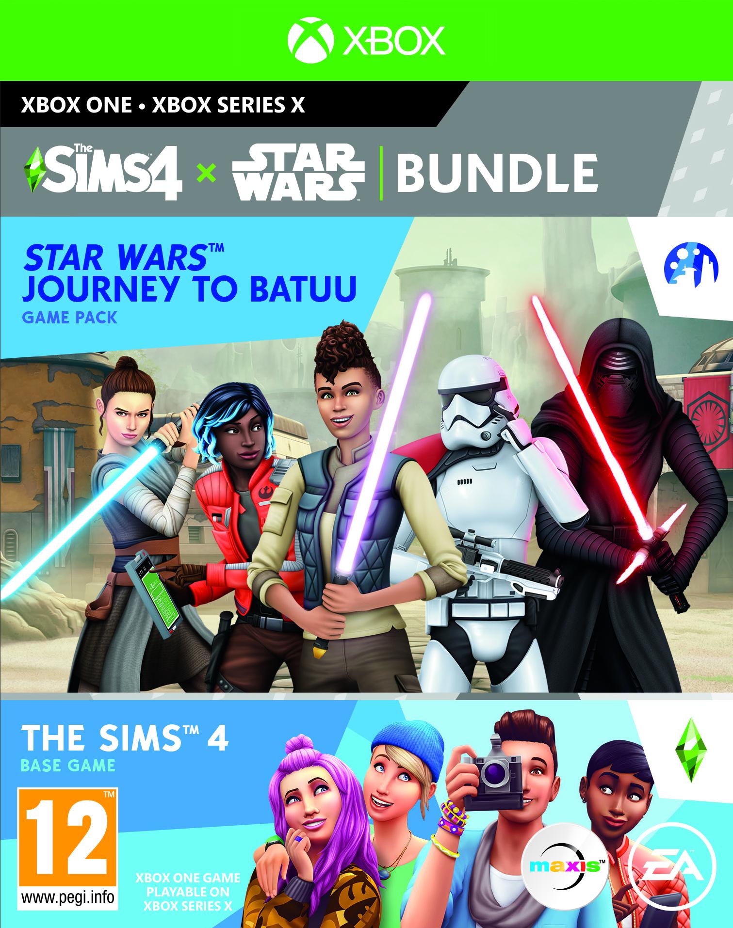 XONE - The Sims 4 + Star Wars - bundle