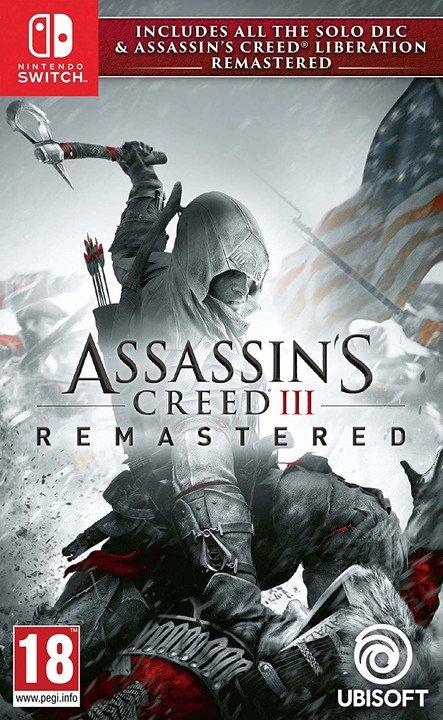 NS - Assassins Creed 3 + Liberation Remastered HD