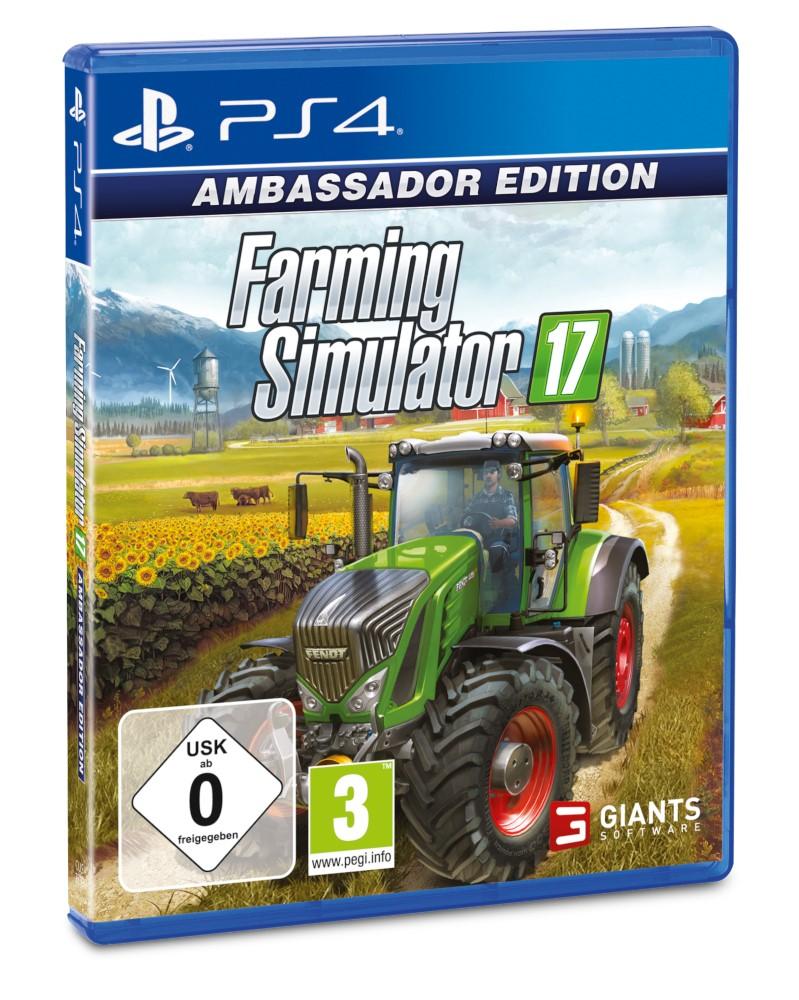 PS4 - Farming Simulator 17: Ambassador Edition