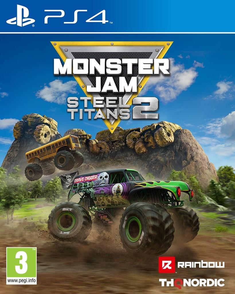 PS4 - Monster Jam: Steel Titans 2