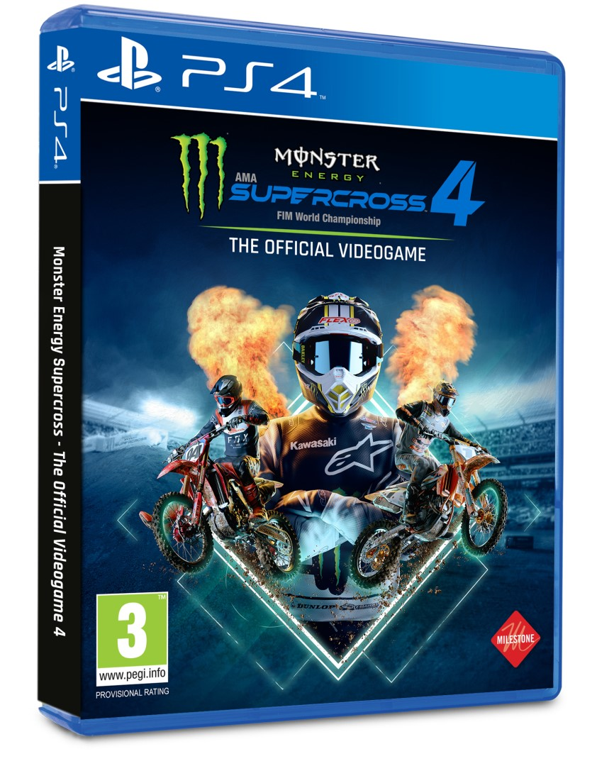 PS4 - Monster Energy Supercross 4