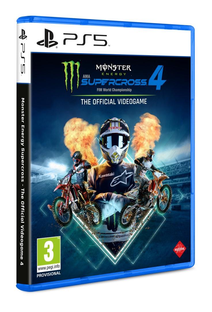 PS5 - Monster Energy Supercross 4