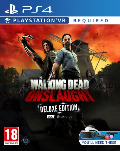 PS4 - The Walking Dead: Onslaught VR Survivors Ed.