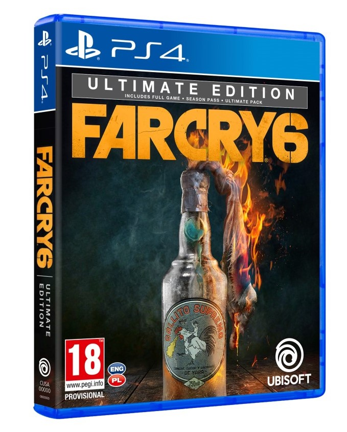 PS4 - Far Cry 6 ULTIMATE Edition