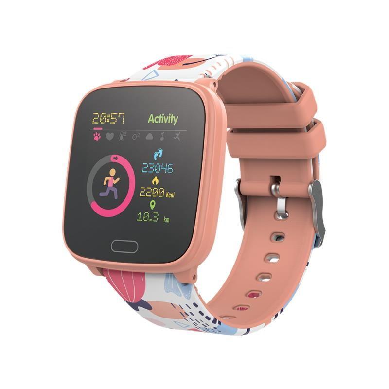 Chytré hodinky Forever IGO JW-100 oranžové