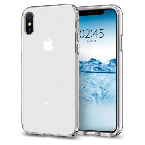 Kryt Spigen Liquid Crystal pro Apple iPhone XS/X