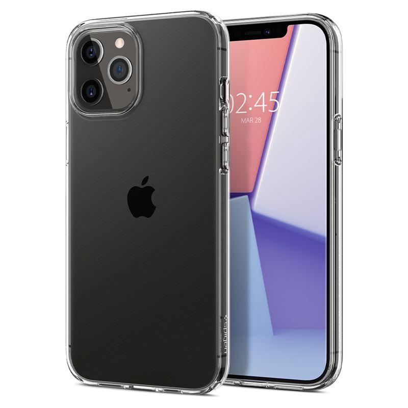Ochranný kryt Spigen Liquid Crystal pro Apple iPhone 12/iPhone 12 Pro (6,1