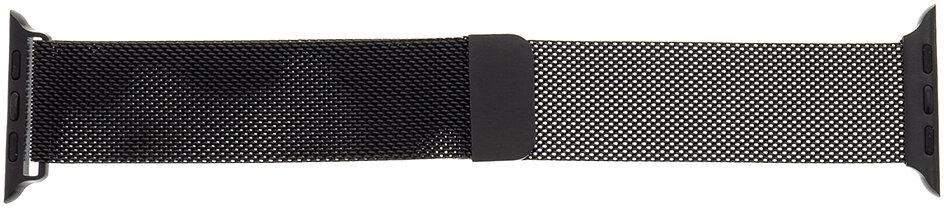Tactical 351 Loop Magnetický Kovový Řemínek pro Apple Watch 1/2/3/4/5/6/SE 42/44mm Black