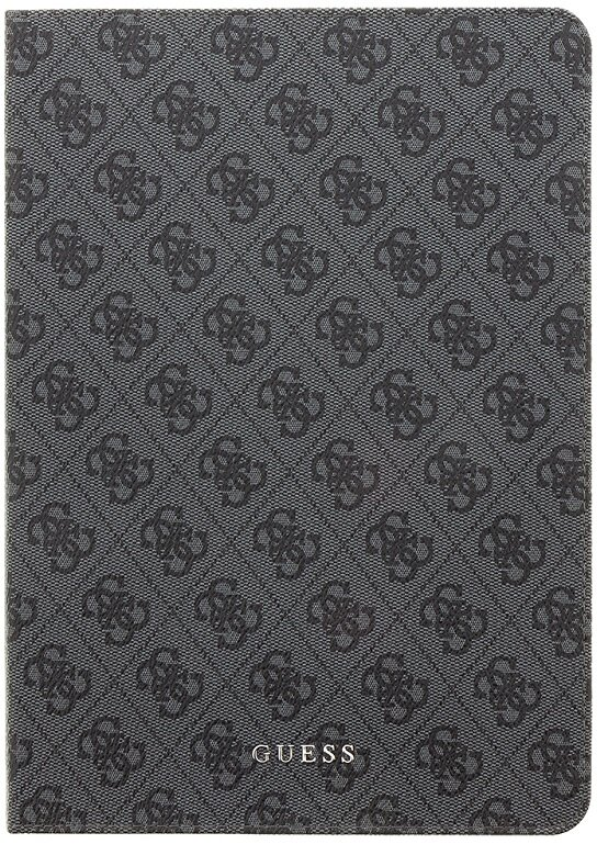 Guess 4G Folio Pouzdro pro iPad Air 9.7 2018 Black/Grey