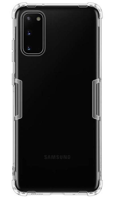 Nillkin Nature TPU Kryt pro Samsung Galaxy S20 Transparent