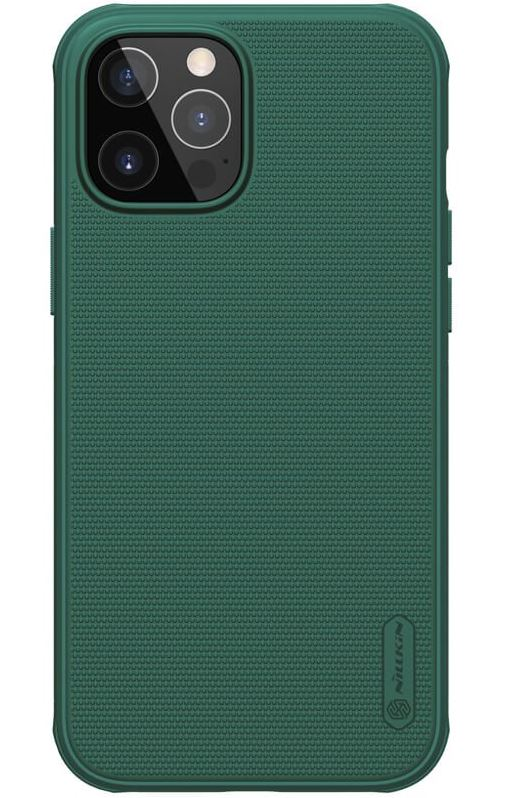 Nillkin Frosted Kryt iPhone 12 Max 6.7 Deep Green