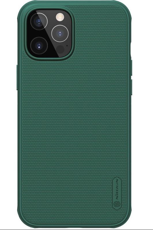 Nillkin Frosted Kryt iPhone 12/12 6.1 Deep Green