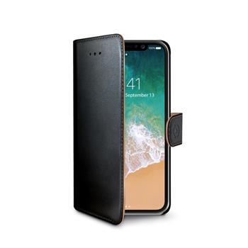 Pouzdro typu kniha Wallet iPhone X/XS, černé