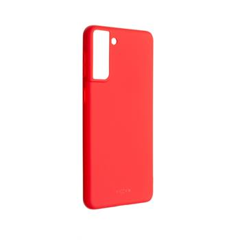 Kryt FIXED Story Samsung Galaxy S21+, červený