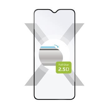 Sklo FIXED Xiaomi Redmi Note 8 (2021), plné lepení