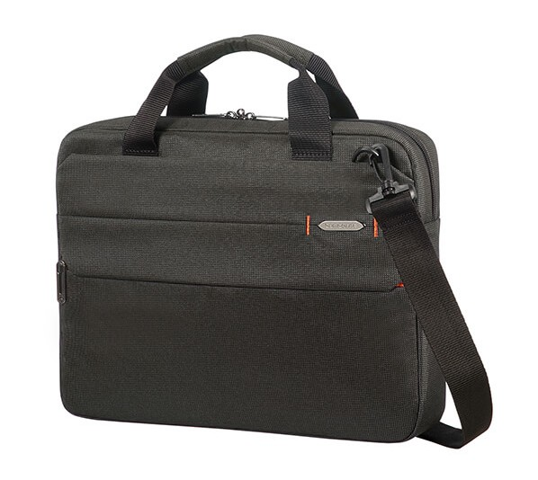 "Samsonite Network 3 LAPT. BAG 14.1"" Charcoal Black"