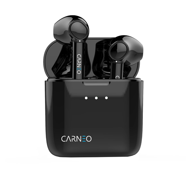 CARNEO S8 Bluetooth Sluchátka - black