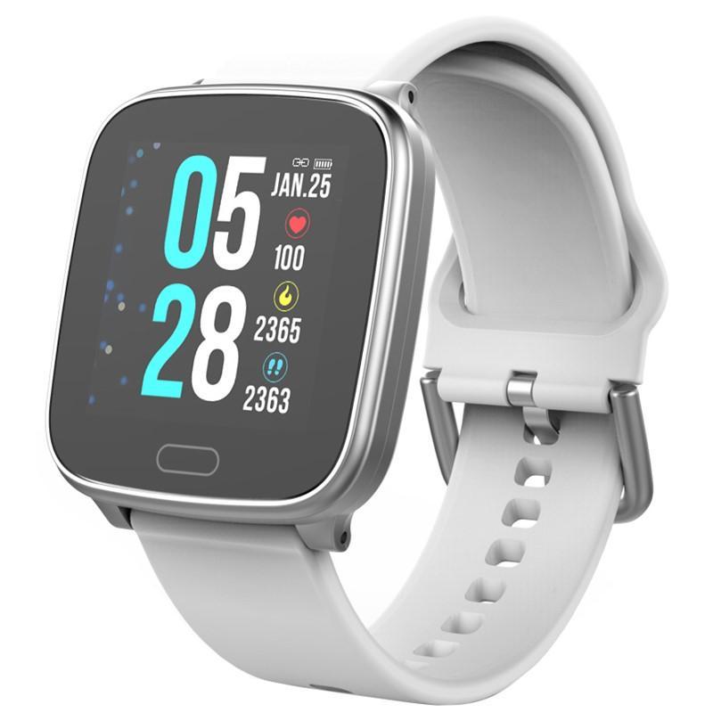 CARNEO Smart hodinky SlimFit+ Stříbrné