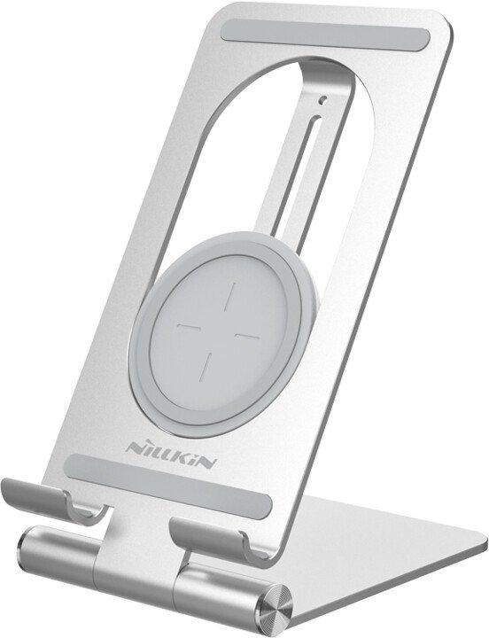 Nillkin PowerHold Stolní Bezdrátová Nabíječka pro Tablety Silver