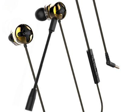 iPega PG-R012 Gaming Eadbuds s Mikrofonem Black/Gold
