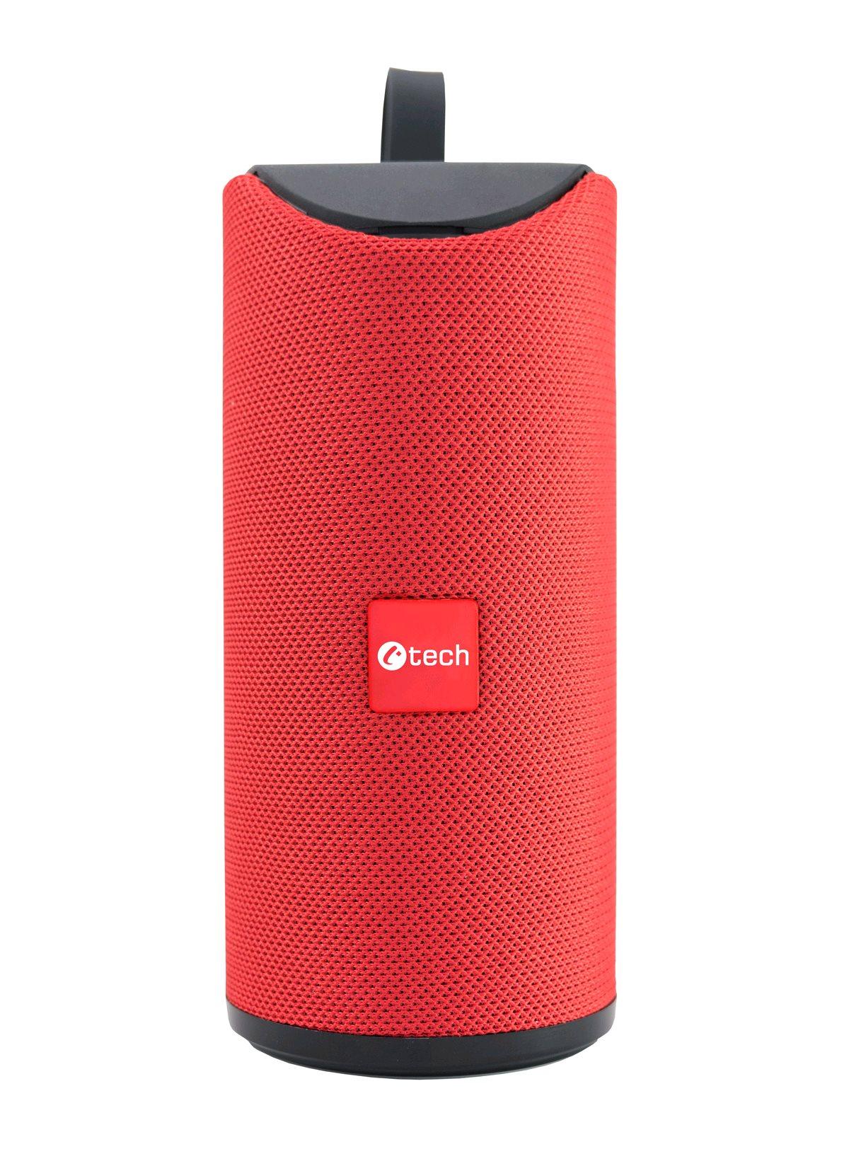 Repro C-TECH SPK-07R, bluetooth, červený