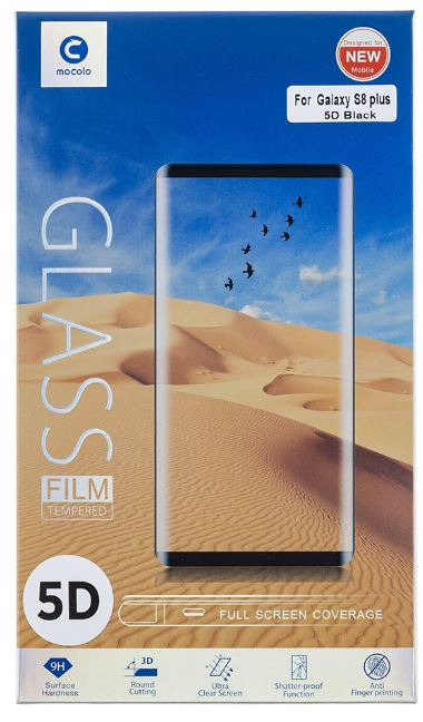 Mocolo 5D Tvrzené Sklo Black pro Huawei P20 lite
