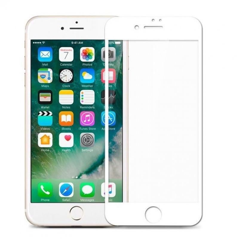Mocolo 5D Tvrzené Sklo White pro iPhone 7/8/SE2020
