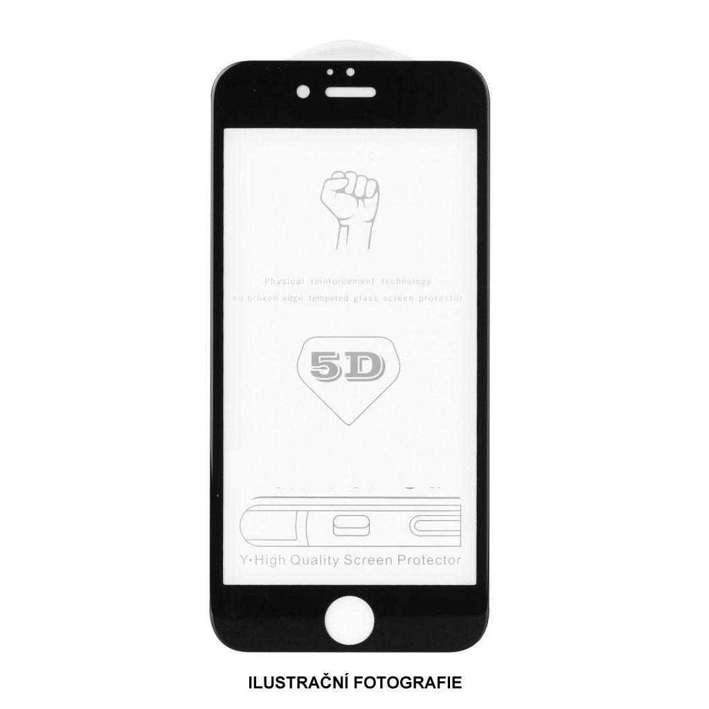 5D tvrzené sklo Samsung S20 Black (FULL GLUE)