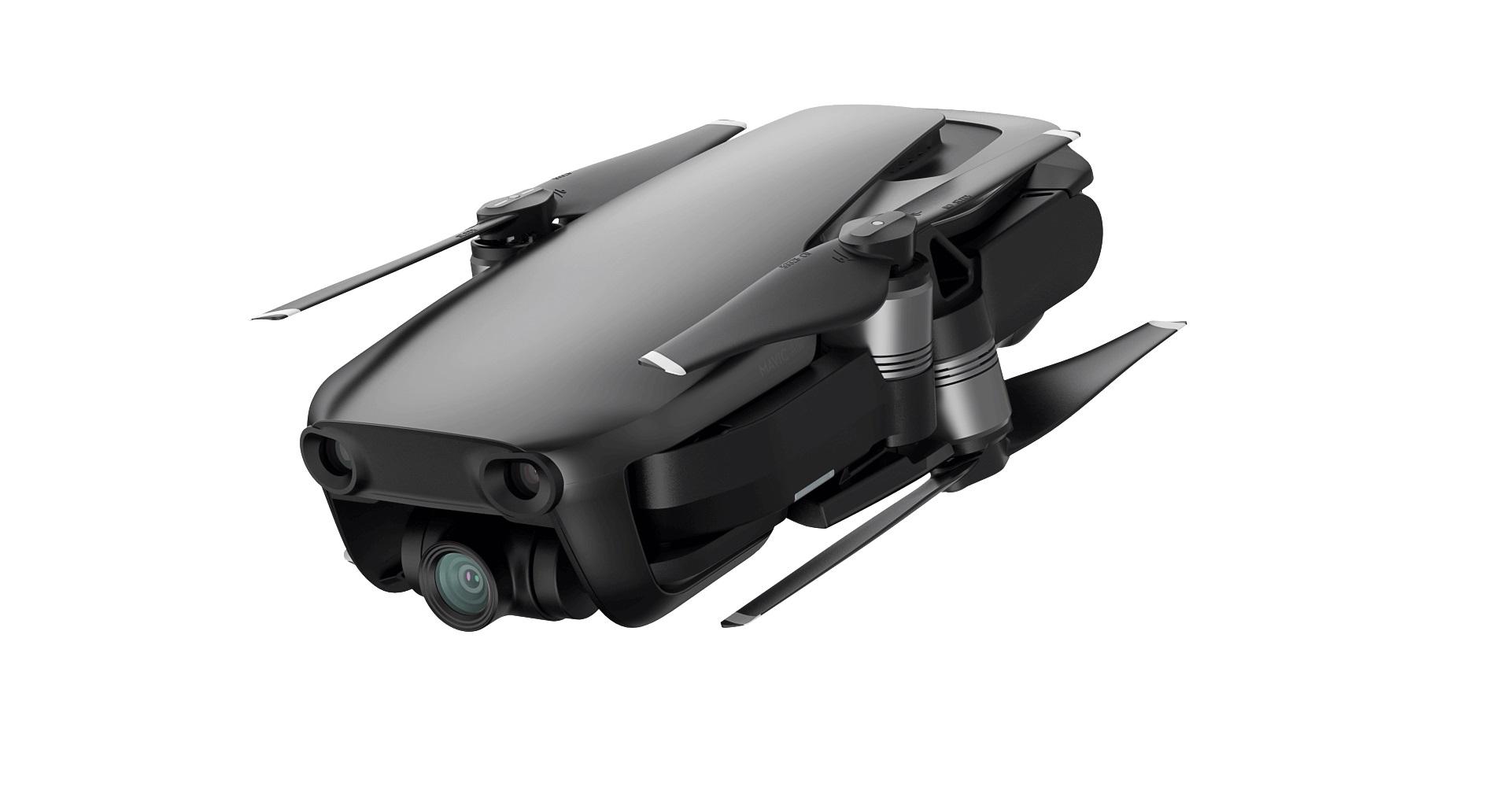 DJI kvadrokoptéra - dron, Mavic Air, 4K kamera, černý