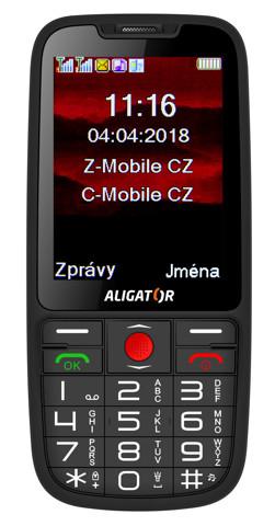 ALIGATOR A890 Senior černý