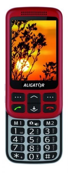 ALIGATOR VS 900 Senior červeno-stř+st.nab.