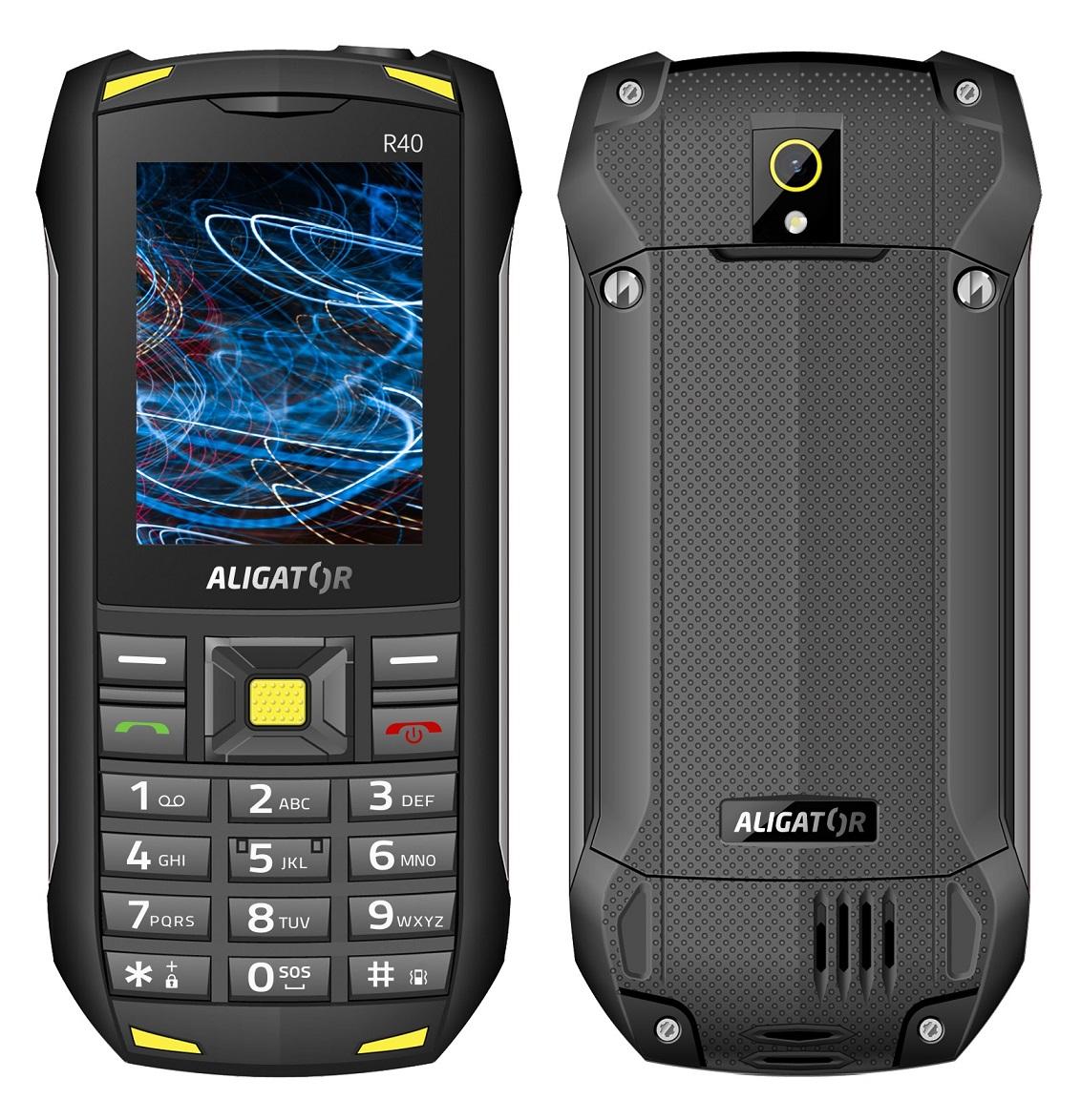 ALIGATOR R40 eXtremo černo-žlutý