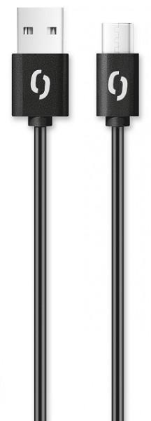 ALIGATOR Datový kabel POWER 3A, USB-C 1m černý