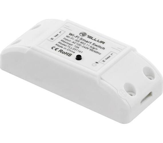 Tellur WiFi Smart Inline Switch, 2200W, bílý