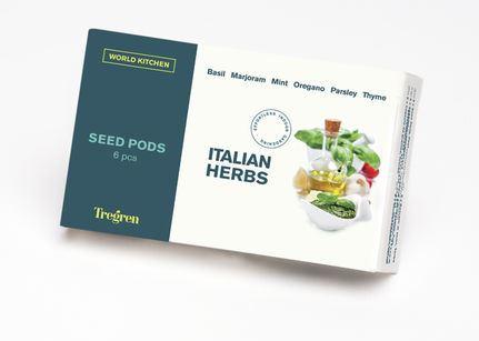 TREGREN Italské bylinky (kapsle se semeny, 6 ks)