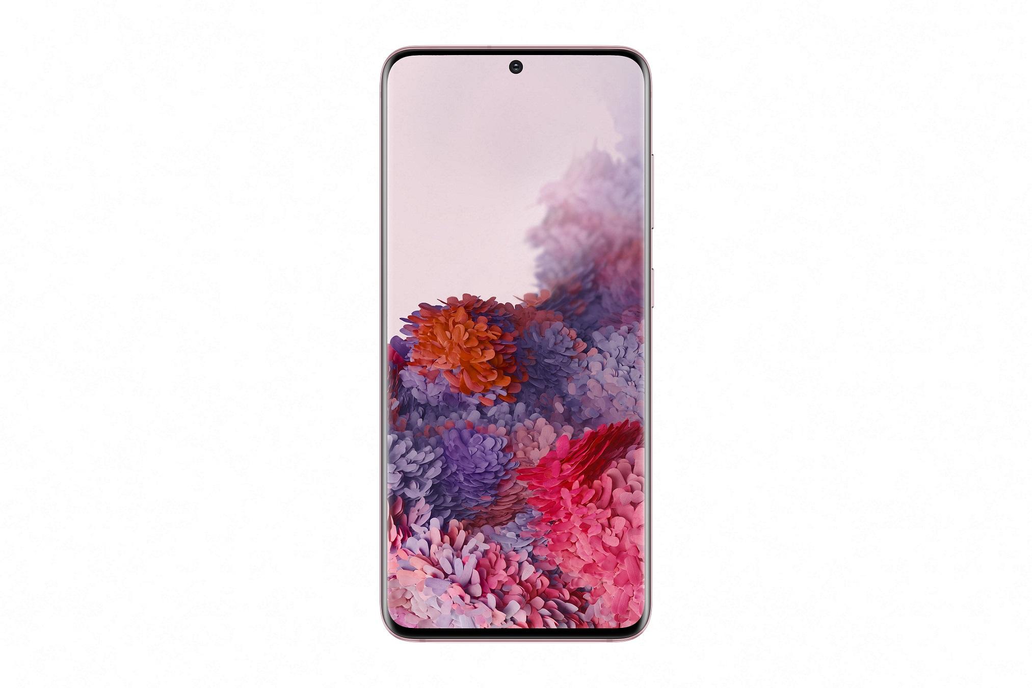 Samsung Galaxy S20 růžový