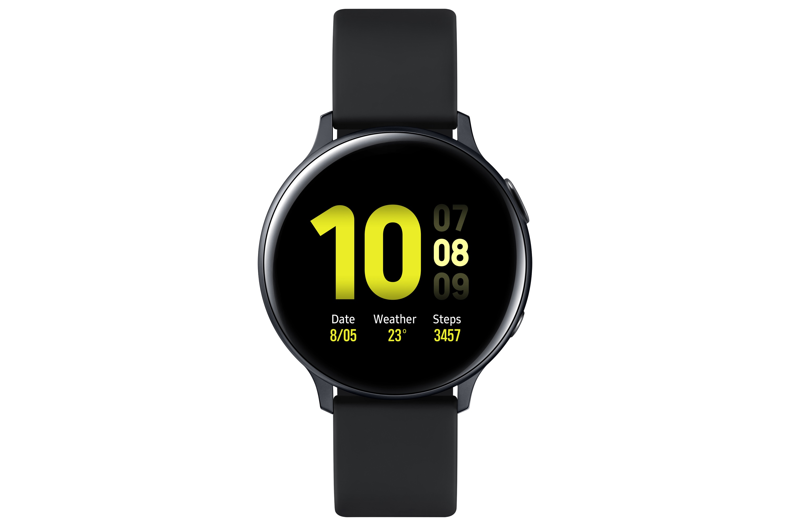 SAMSUNG Galaxy Watch Active 2  R820 Aluminium 44mm Black